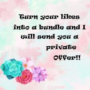 Turn your likes into Bundles for Private Offer